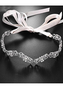 In Stock Unique Alloy Wedding Hair Ornament With Rhinestones